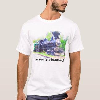 T-shirt Train de vapeur, je suis vraiment cuit à la vapeur