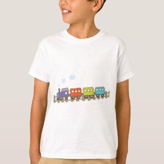T-shirt Train sur la voie
