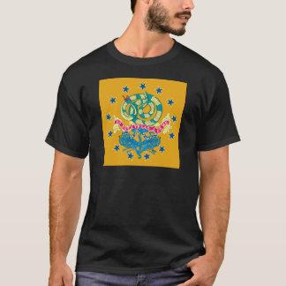 T-shirt Train uni d'artillerie de drapeau de Providence