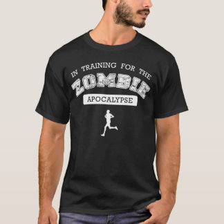 T-shirt Training for the zombie apocalypse