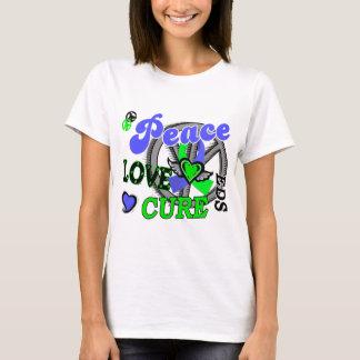 T-shirt Traitement 2 EDS d'amour de paix