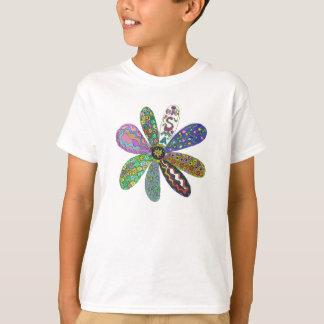 T-shirt Traitement SMA flower power