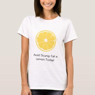 T-shirt Tranche de citron : Évitez le scorbut !