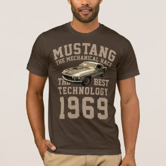 T-shirt Transmission mécanique de mustang