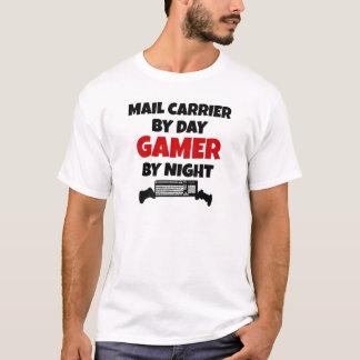 T-shirt Transporteur de courrier par le Gamer de jour par