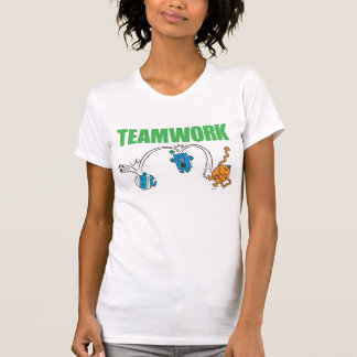 T-shirt Travail d'équipe