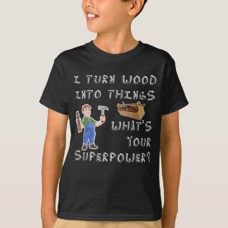 T-shirt Travailleur du bois