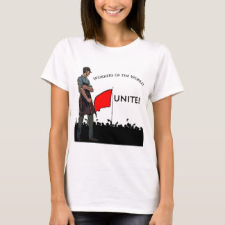 T-shirt Travailleurs du monde