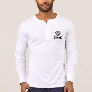 T-shirt Travailleurs unis Henley de laine