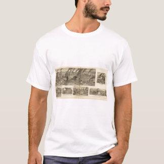 T-shirt Travaux de clou de Belmont, roulant