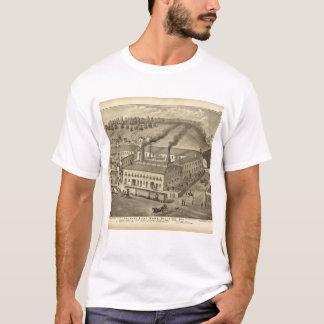 T-shirt Travaux en verre de Belmont, Bellaire, Ohio