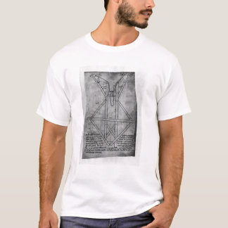 T-shirt Trebuchet, machine pour jeter des flèches
