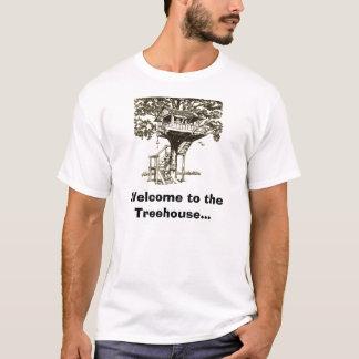 T-shirt tree-house1, accueil à la cabane dans un arbre…