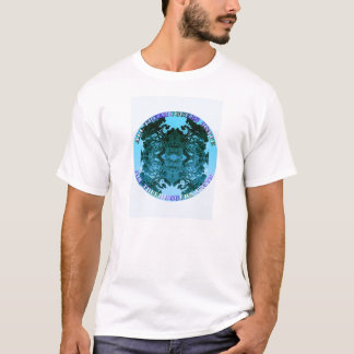 T-shirt Treehuggers unissent (la turquoise)