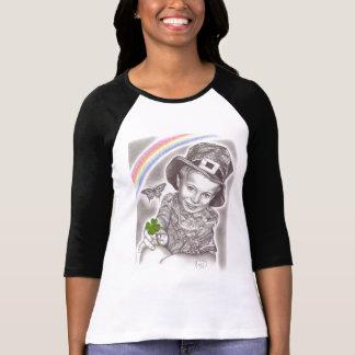 T-shirt trèfle chanceux