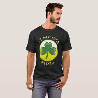 """T-shirt Trèfle irlandais chanceux que """"ce n'est pas"""
