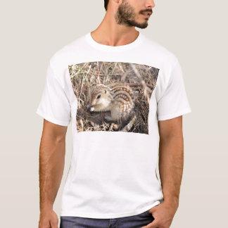 T-shirt Treize ont rayé l'écureuil moulu