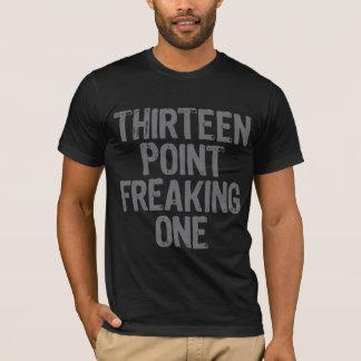 T-shirt treize points freaking un gris