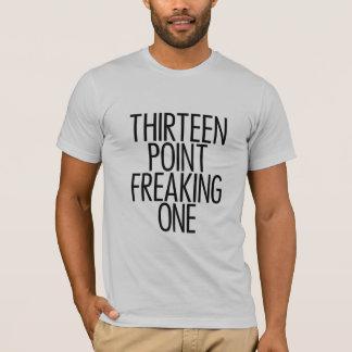 T-shirt Treize points Freaking un noir 2
