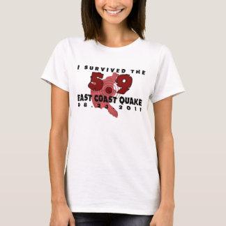 T-shirt Tremblement 2011 de Côte Est