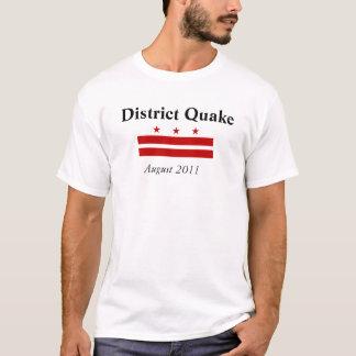 T-shirt Tremblement de terre de C.C