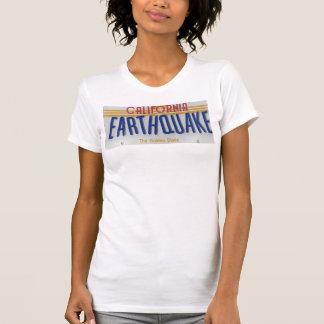 T-shirt tremblement de terre de la Californie