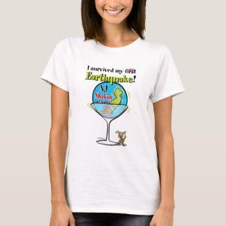 T-shirt Tremblement de terre de Shakin non incorporé NJ