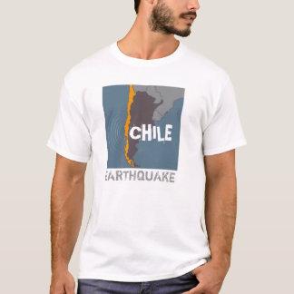 T-shirt Tremblement de terre du Chili