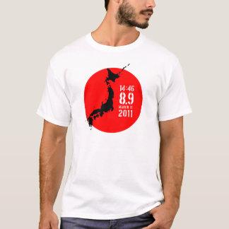 T-shirt Tremblement de terre du Japon