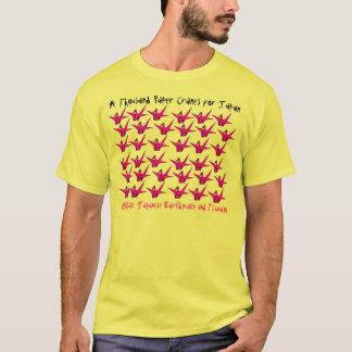 T-shirt Tremblement de terre et tsunami de 2011 Japonais