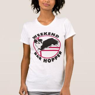 T-shirt Trémie australienne de barre de week-end d'agilité