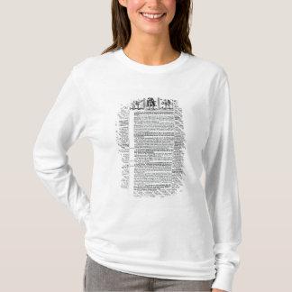 T-shirt Trente et deux extrémités de ces périodes