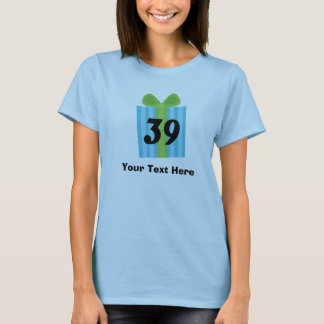 T-shirt Trente-neuvième cadeau d'anniversaire heureux