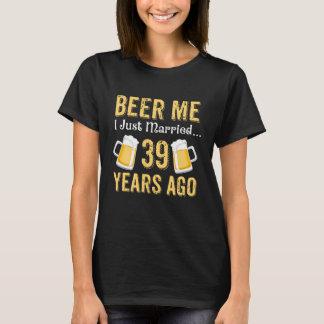 T-shirt trente-neuvième Costume d'anniversaire pour