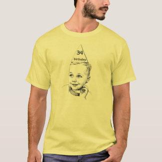 T-shirt trente-quatrième ou 27ème ou soixante-huitième