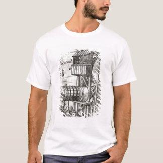 T-shirt Treuil pour obtenir l'eau d'une mine