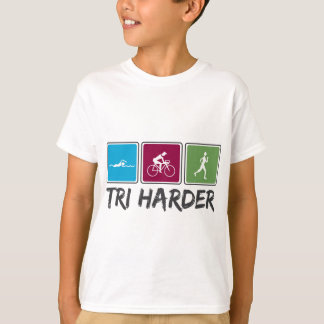 T-shirt Tri plus dur (triathlon)