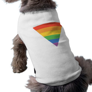 T-shirt Triangle d'arc-en-ciel de gay pride
