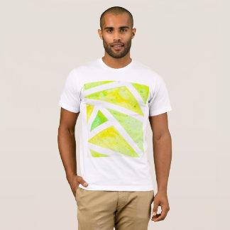 T-shirt Triangle verte