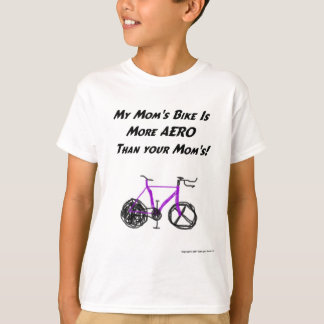 T-shirt Triathlon d'enfants (maman)