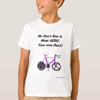 T-shirt Triathlon d'enfants (papa)