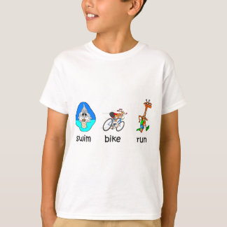 T-shirt Triathlon drôle