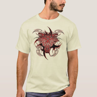T-shirt Tribal de dragon