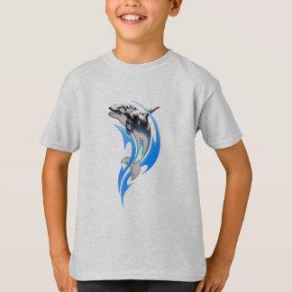 T-shirt tribal d'orque