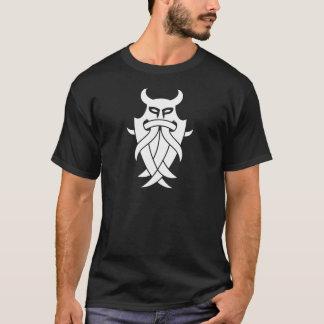 T-shirt Tribal du masque d'Odin (noir)