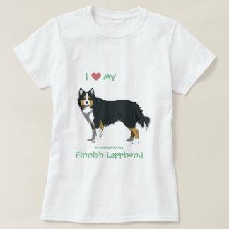 T-shirt tricolor finlandais Lapphund shirt - lapinkoira
