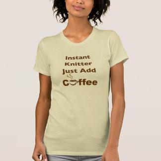 T-shirt Tricoteuse instantanée