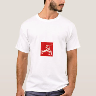 T-shirt Tricycle rouge