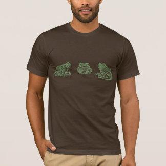 T-shirt Trio de grenouille