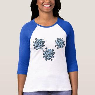 T-shirt Trio des flocons de neige